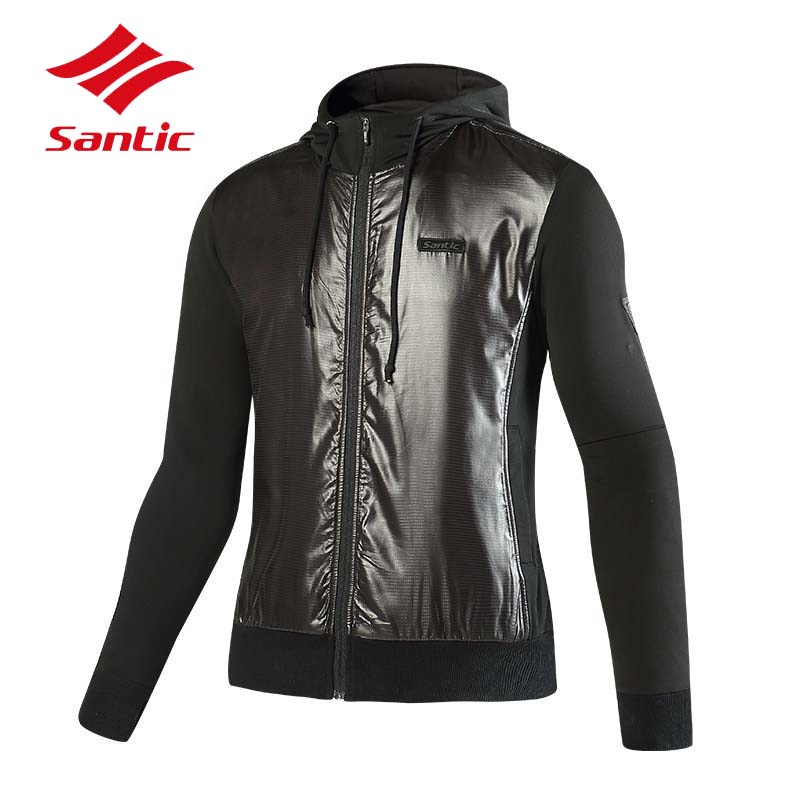 Santic Cycling Jacket Men Long Sleeve Winter Fleece Thermal MTB Road Bicycle Bike Clothes Cycling Clothing Ropa Ciclismo 2018 veobike winter thermal brand pro team cycling jersey set long sleeve bicycle bike cloth cycle pantalones ropa ciclismo invierno