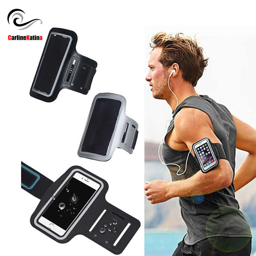 BLACK Armband Waterproof Gym Run For Huawei P20 lite mate 20 Pro 10 P10 p9 p smart nova 3 For Honor 8x 9 7c Arm Band Bag Case