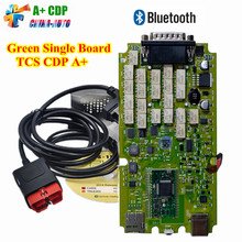Single Board TCS CDP PRO PLUS cdp pro für Autos/Lkw + Generische 3 in 1 Neue NEC Relais Bluetooth SCANNER + 2015. R3 software obd tool