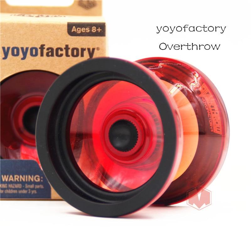 2019 New Arrive Yoyofactory Overthrow YOYO  1A Rubber ball yoyo for Professional economy