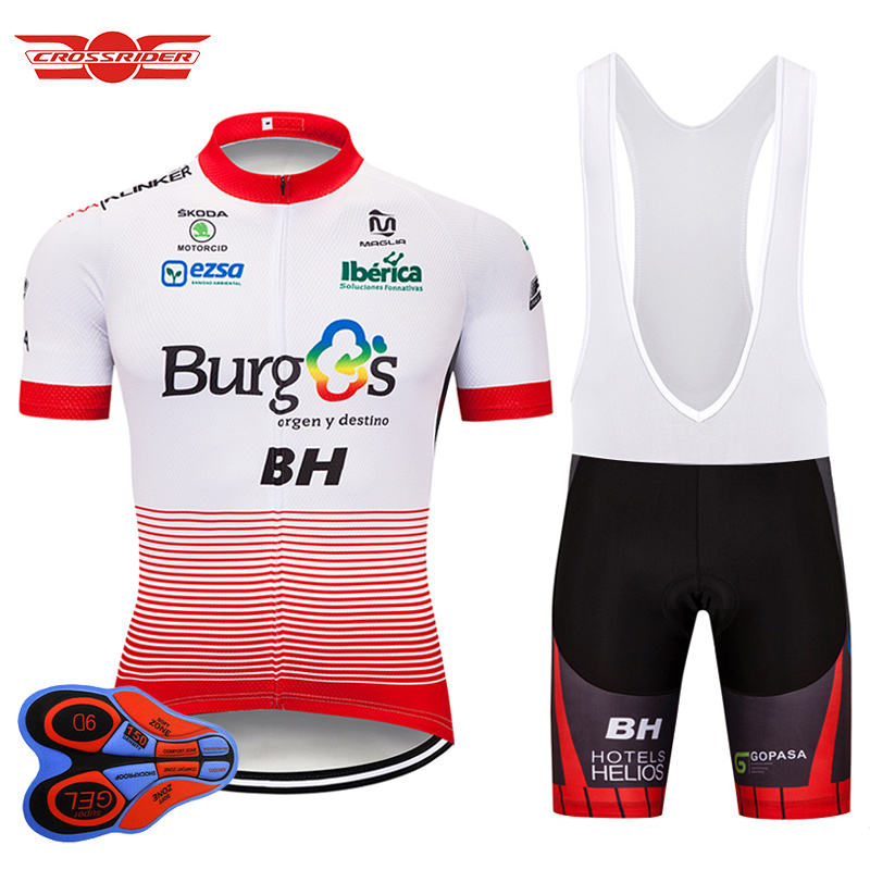 Tour de France 2018 Team BH Cycling Pro Jersey Sets MTB uniforms Bicycle Clothing Bike Wear Clothes Mens Shorts Maillot Culotte