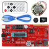 Rich Multifunction UNO R3 Atmega328P Development Board Kit For Arduino With MP3 DS1307 RTC Temperature Touch