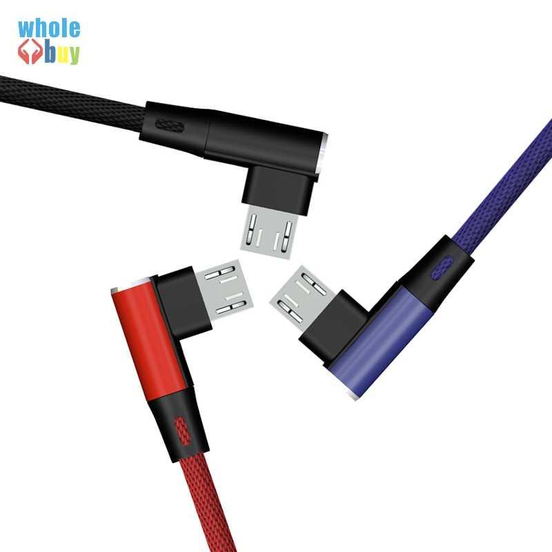 1M 90 Gradi Cavo 8pin Per il iphone 8Pin Veloce di Ricarica L Flessione Cavi 5pin micro usb per android typeC all'ingrosso 100 pz/lotto