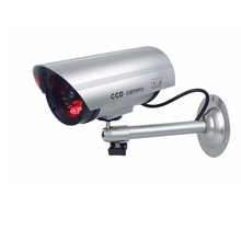 Dummy/Fake Camera AA Battery for Outdoor Indoor Surveillance Security Camera Bullet CCTV Camera Home Security