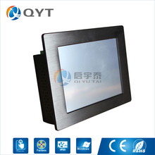 Embedd PC Atom N2807 1.6GHz industrial computer 8.4 inch 4GB DDR3 32G SSD led touch screen Resolution 800×600 by DHL