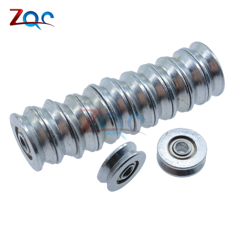 10pcs 623zz V-groove Sealed Ball Skateboard Bearings Vgroove 3x12 X4mm V623vv Hand & Power Tool Accessories Tools