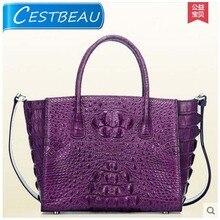 cestbeau Luxury new font b Real b font crocodile font b women b font handbag Single