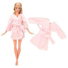 цена Fashion Handmade  2 Items/Set Doll Accessories = 1 night clothes + 1 Sleeping bag Toys Objectt For Barbie dress up Game for Girl онлайн в 2017 году