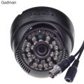 Gadinan Analog Camera CMOS 800TVL 1000 TVL CCTV Camera 3.6mm Lens  IR Cut 48pcs IR Night Vision Mini Dome Indoor Dome Security