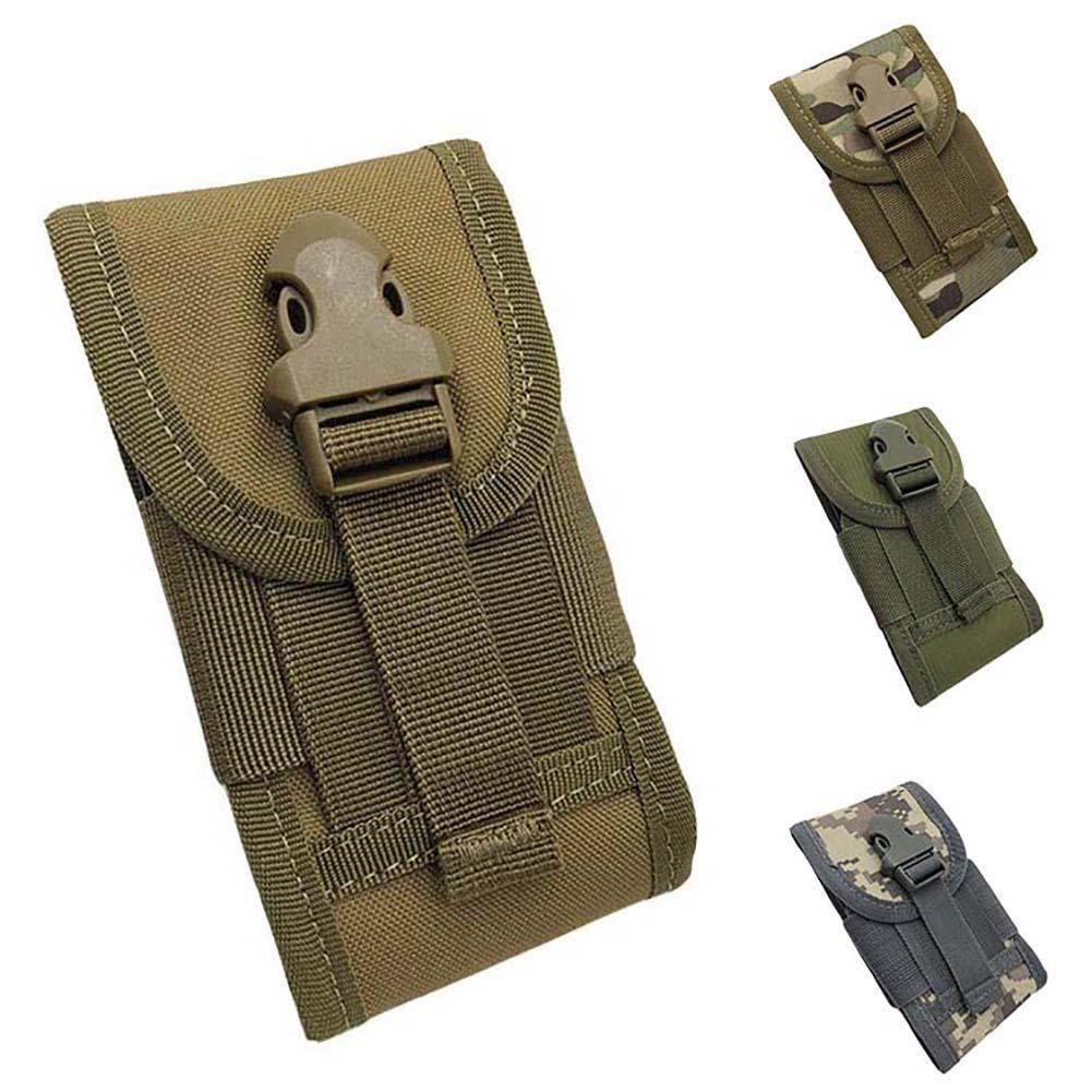 Fashion Men Outdoor Travel Sport Tactical Camo Phone Pocket Waist Bag Fanny Pack