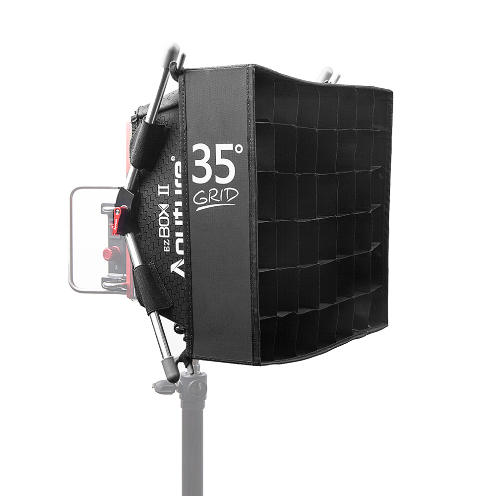 Aputure Diffuser Softbox with Grid Aputures Easy Box+ II Diffuser Kit for 672 528 light Softbox kit-in Flash Diffuser from Consumer Electronics    1