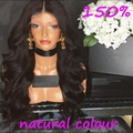 Top 7A Grade Best 150% Density Virgin Brazilian Thick Human Hair Wig Full Lace Wig Cheap Human Hair Lace Front Wig Glueless Wig
