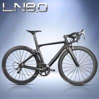 Complete Carbon Fiber Road Bike Racing Cycling T800 Carbono Fibre Frameset R36 Carbon Wheels SH1MANO 3500