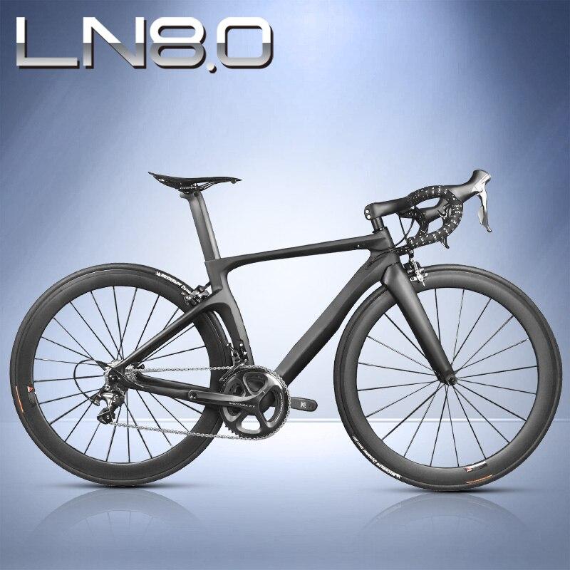 Vélo de route complet en Fiber de carbone, cadre en Fiber de carbone T800, roues en carbone R36, SH1MANO 3500/4700/5800/R8000/9100