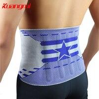 KuangMi Sports Professional Gym Basketball Badminton Waist Belt Men Or Women Fitness Support Breathable Waist Braces