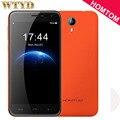 Оригинал HOMTOM HT3 8 ГБ/1 ГБ Сети 3 Г 5 дюймов Android 5.1 MTK6580A Quad Core 1.3 ГГц 3000 мАч WCDMA GSM Сотовые Телефоны FM HD Экран