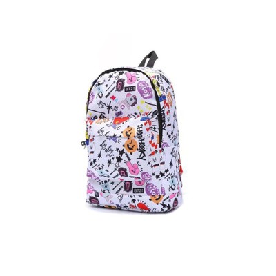 New Bts Bangtan Boys Love Yourself Answer Jungkook Jimin Same Students Cool Shopping Travel Bag Backpack Harajuku Canvas Bag Luggage & Bags