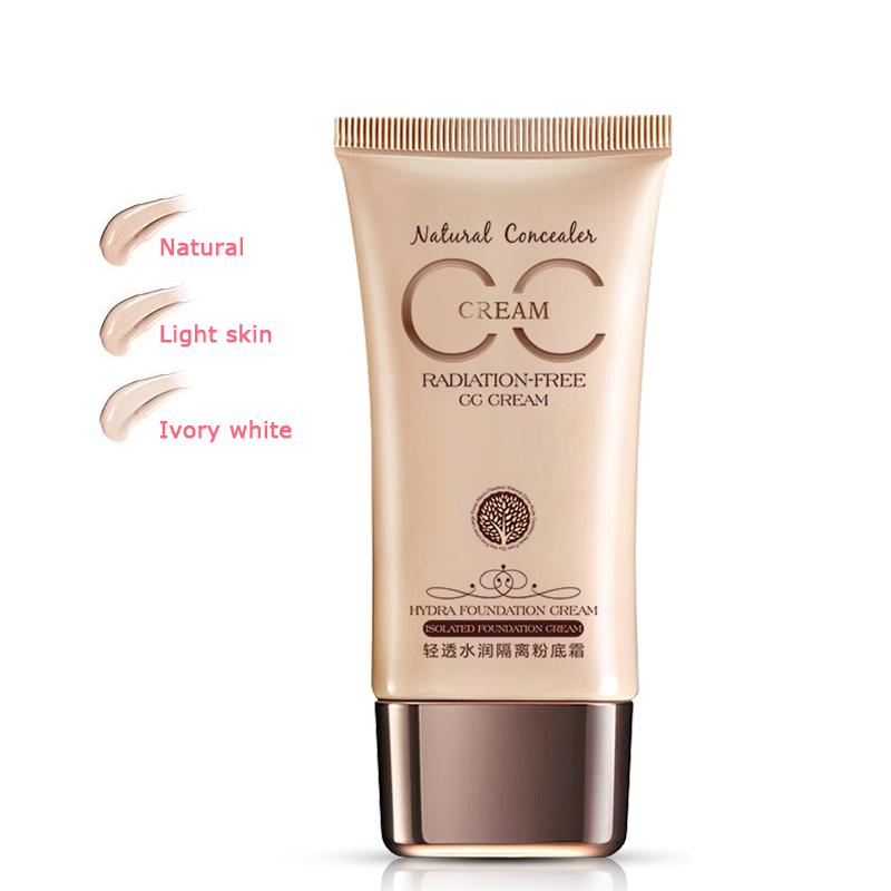 CC Cream Concealer Moisturizing Whitening Oil-control Liquid Foundation Base Face Makeup Cosmetic image