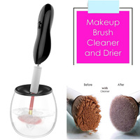 Electric Makeup Brush Cleaner Convenient Dryer Silicone Make Up Brushes Cleanser Cleaning Tool Machine