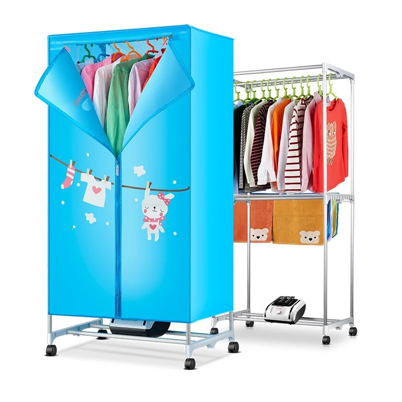 Electric Dryer Rack Clothes Dryer Machine Fast Drying Heater Control Hanger Clothes Storage Cabinet Wardrobe with Towel RackElectric Dryer Rack Clothes Dryer Machine Fast Drying Heater Control Hanger Clothes Storage Cabinet Wardrobe with Towel Rack