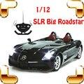 Новый Год Подарок 1/12 Mercedes SLS RC Car LED Электрический Автомобиль резиновые Шины Дистанционного Управления Автомобилем Дрейф RC Модели Автомобилей RC Автомобиль игрушка