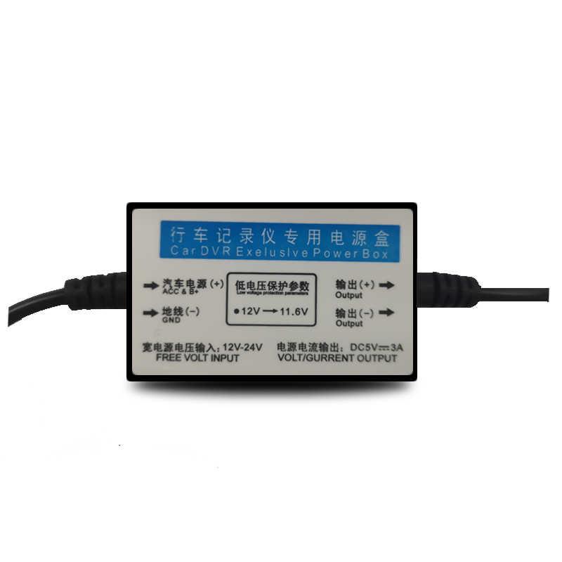 12 В/24 В до 5 В пост 2.5A мини USB проводной Kit DVR Мощность кабель с адаптером для A10 M06 GS63H PG01 PG02 Dash Cam, низкая Напряжение защиты