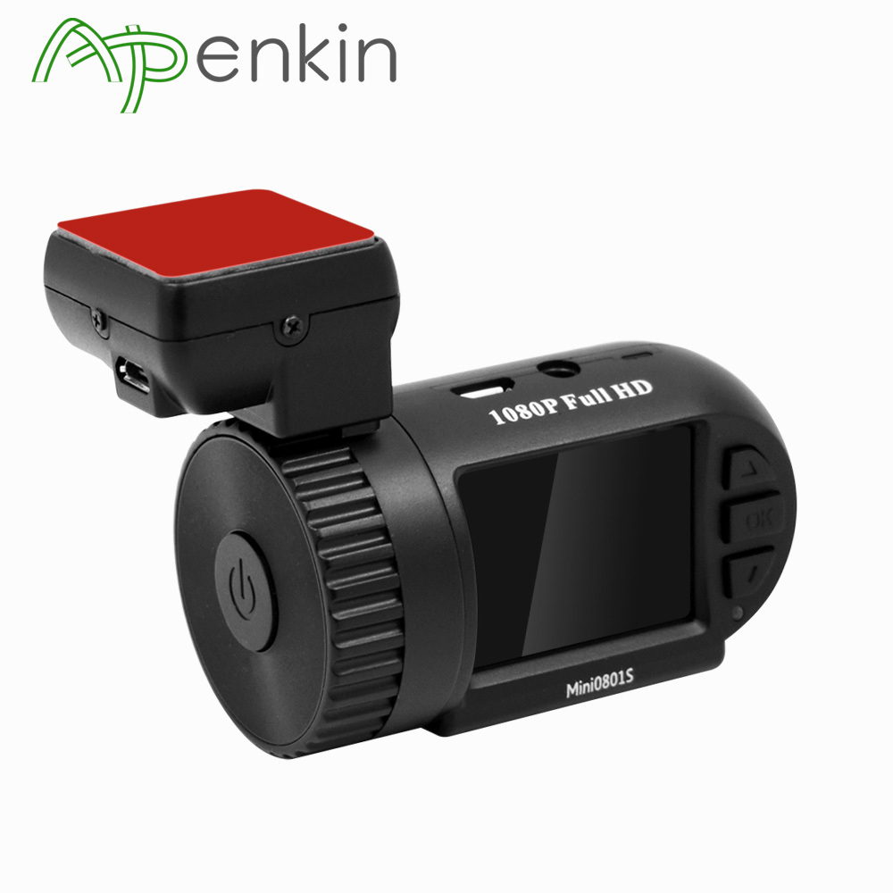 Arpenkin Mini0801 Upgrade Mini0801S GPS Car Camera Video Recorder Dash Cam 1080P Capacitor G-Sensor Night Vision Full HD Car DVR arpenkin mini 0805p gps car dash camera 1296p capacitor g sensor parking monitor voltage protect video recorder hd dvr dash cam