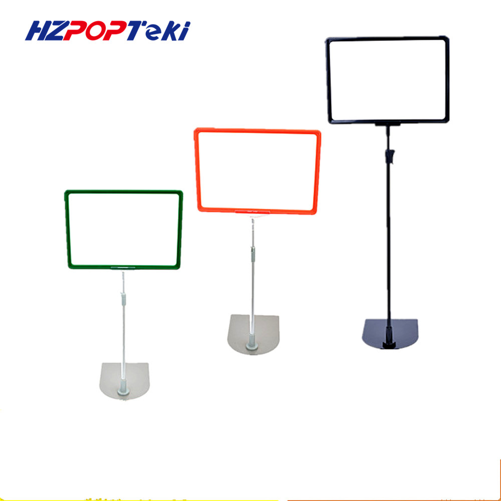 Plastic POP Sign Paper Poster Price Frame A3A4A5 Signage Holders Promotion Display Stand For Supermarket Retail 50 Sets