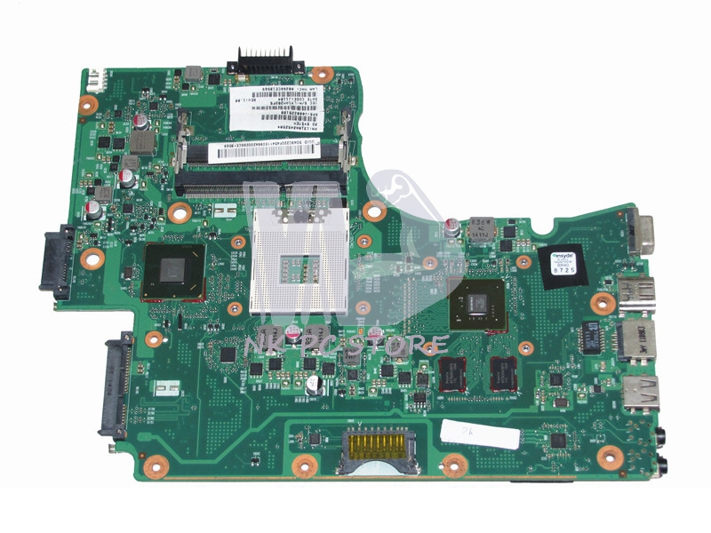 V000225180 Main Board For Toshiba Satellite C665 Laptop Motherboard HM65 DDR3  GT315M ytai l740 a000093450 hm65 date5mb16a0 mainboard for toshiba satellite l740 l745 laptop motherboard a000093450 hm65 date5mb16a0