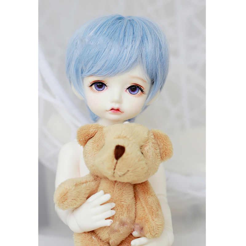 Bybrana парики короткие прямые волосы 1/3 1/4 BJD парики Высокая температура волокна для кукол