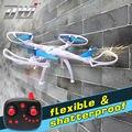 Rc zangão quadrocopter profissional vs syma x5c quadcopter controle remoto rc helicóptero 2.4g 4ch 6 axis dwi dowellin d5