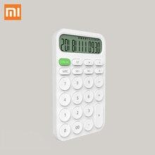 Xiaomi MIIIW 12 цифровой электронный Калькулятор простой дизайн светодиодный дисплей инструмент для подсчета для офисных рабочих студенческих канцелярских принадлежностей