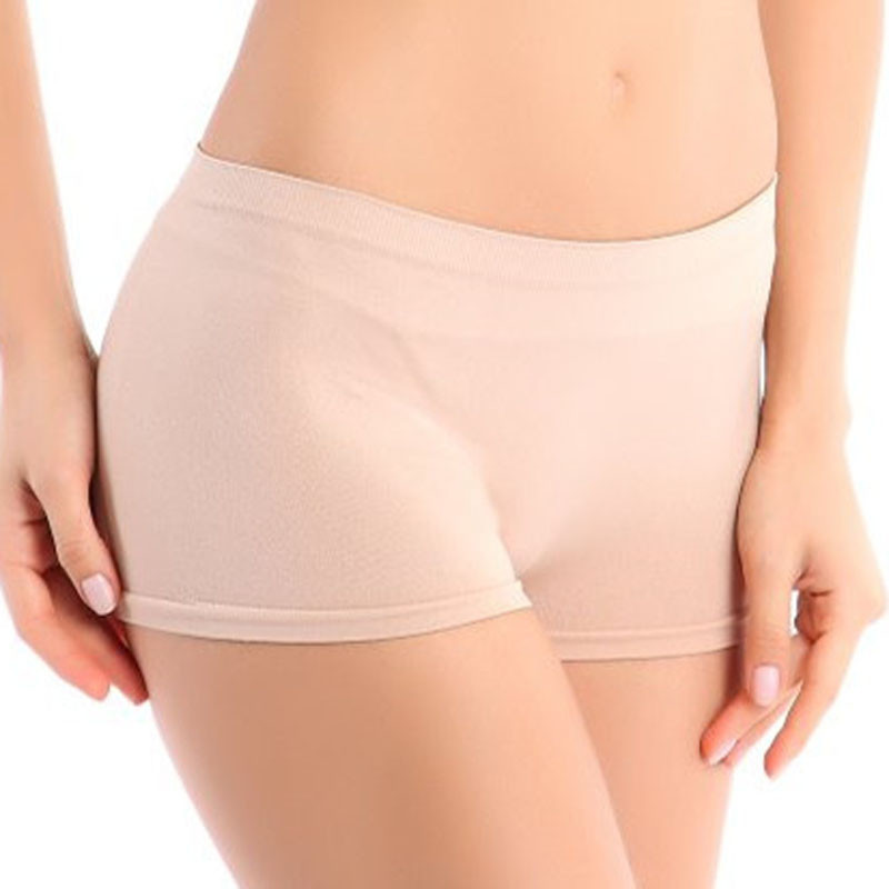 New Fashion Woman Panties Comfortable Breathable Brief Workout Waistband Slimming Skinny Shorts Pants dropship F#J11 ...
