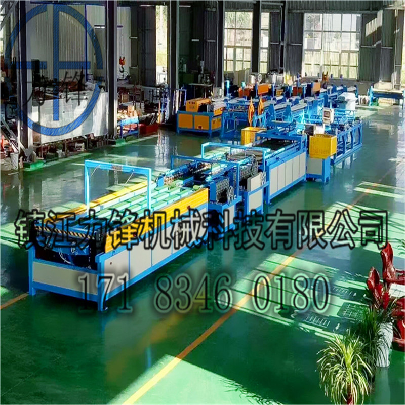 high quality hvac auto ventilation equipment air duct forming machine for sale