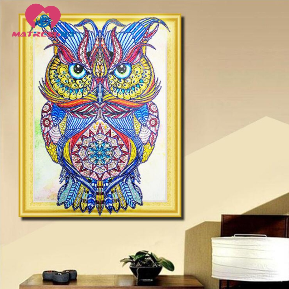 special shaped diamond painting animal owl pictures of rhinestones diamond embroidery sale paintings from crystals  needleworkspecial shaped diamond painting animal owl pictures of rhinestones diamond embroidery sale paintings from crystals  needlework