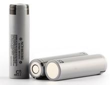 цена на 2pcs/lot New Original Panasonic 18650 NCR18650BD 3.7V 3200mAh 10A discharge battery for electronic cigarette