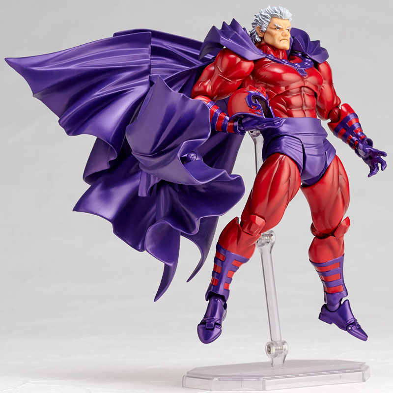 Marvel X-MEN İnanılmaz Yamaguchi Revoltech Serisi NO.1 006 Magneto PVC Action Figure Koleksiyon Model Oyuncaklar Bebek Gitf