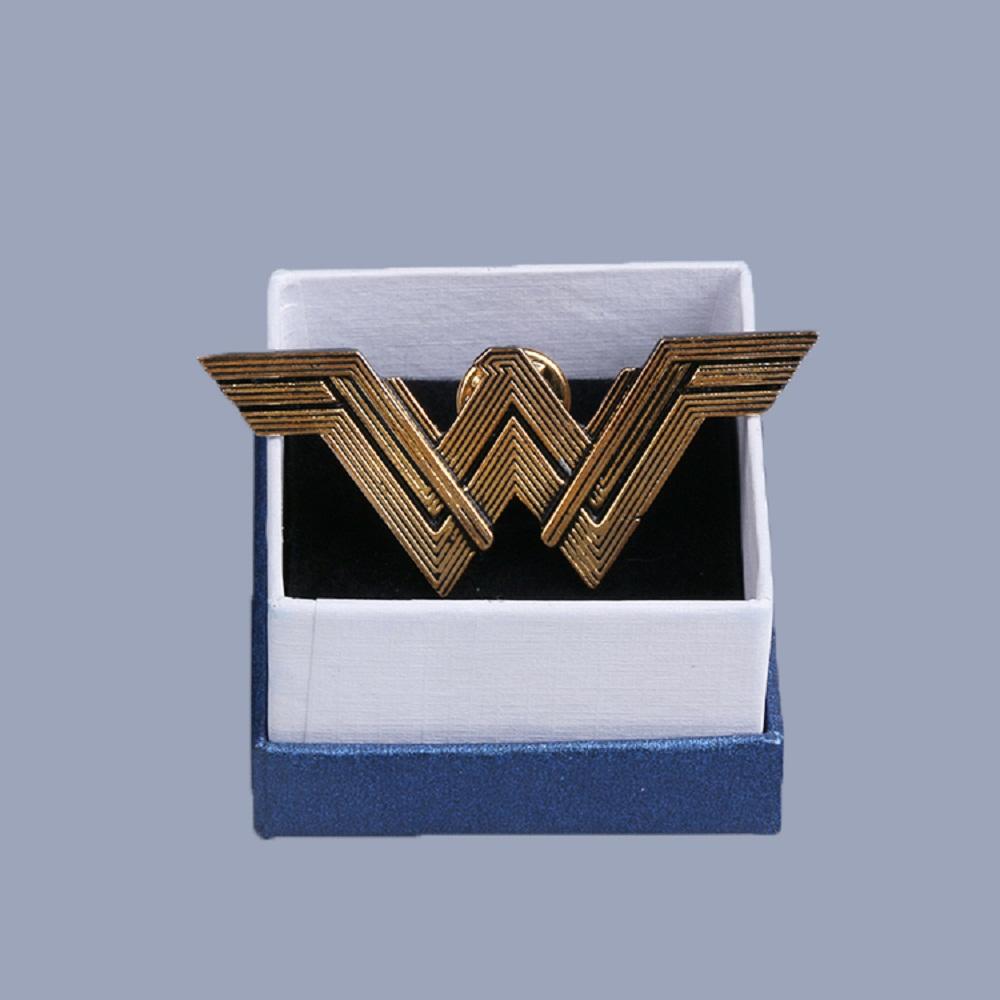 Batman v Superman Dawn of Justice League Wonder Woman Badge metal Brooches Halloween Carnival Cosplay Accessories  Adult Women (2)