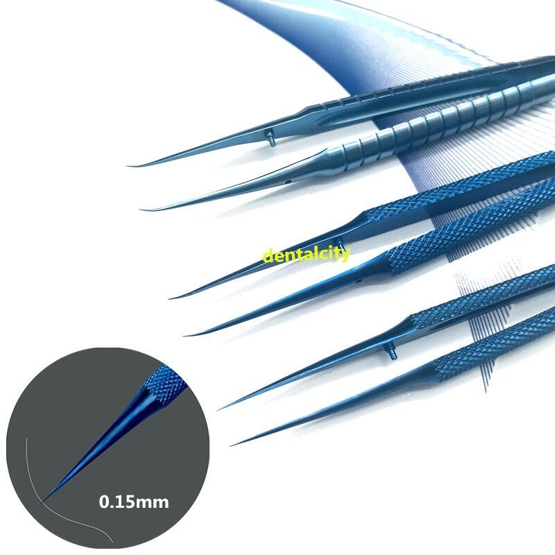 Titanium Alloy Tweezers 0.15mm Edge Precision Fingerprint Tweezers Apple Main Board Copper Wire Professional Maintenance Tool