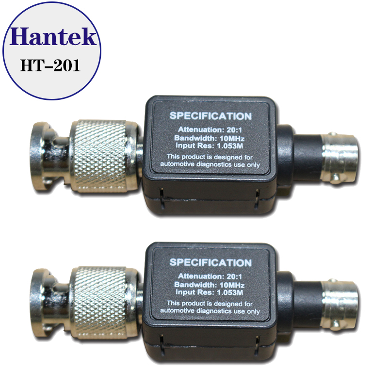 5pcs lot Hantek HT201 20 1 Signal Attenuator 10MHz Bandwidth Free shipping