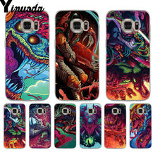 Yinuoda Hyper חית Csgo רך tpu טלפון case כיסוי עבור samsung galaxy s7 s6 edge plus s5 s9 s8 בתוספת מקרה(China)