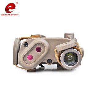 Image 5 - عنصر Airsoft PEQ التكتيكية مصباح يدوي الأشعة تحت الحمراء الخضراء ليزر الادسنس ضوء الأشعة تحت الحمراء WMX200 بندقية الأشعة تحت الحمراء مصباح يدوي الأسلحة الخفيفة PEQ15 EX424
