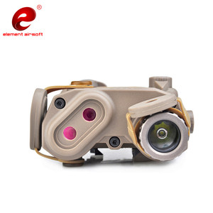 Image 5 - Eleman Airsoft PEQ taktik el feneri IR yeşil lazer Airsoft ışık IR WMX200 kızılötesi silah el feneri silahları ışık PEQ15 EX424