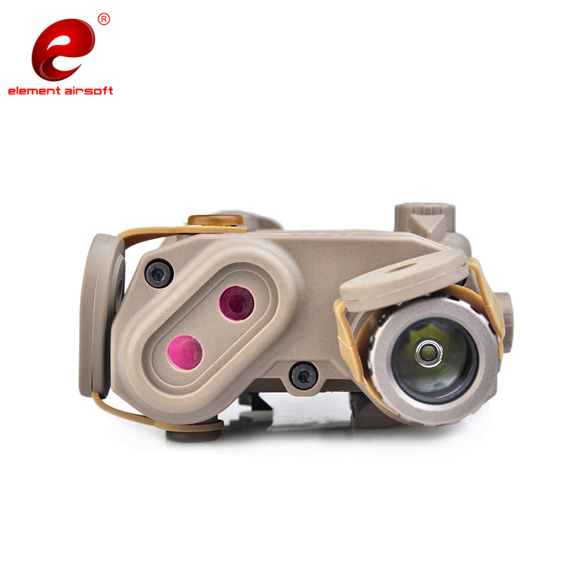 Image 5 - Element Airsoftsports Flashlight SF PEQ LA 5C BLOCK II Surefir IR Green Laser Tactical Light Softair Remote Tail Switch EX424-in Weapon Lights from Sports & Entertainment