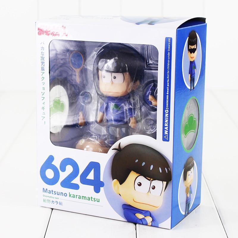 9cm Osomatsu-San Matsuno Karamatsu 624# Action Figure Osomatsu Doll PVC Toys Brinquedos Anime - HangZhou Zhen Yang Store store