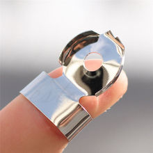 1PC Stainless Steel Garlic Presse Hygien Chestnut Peeler Slicer Helper Finger Hand Protector Kitchen Peeling Tools