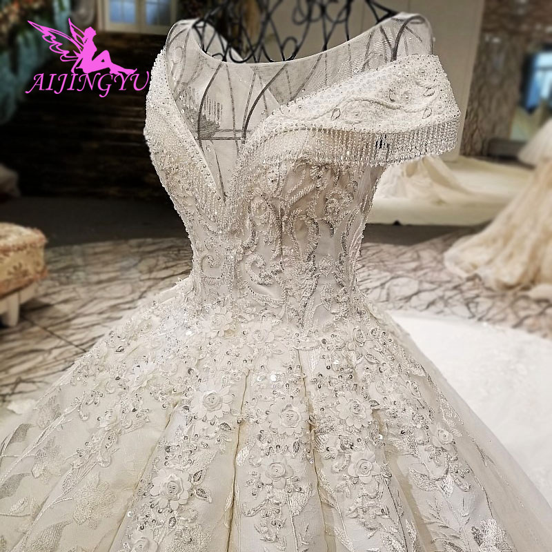 Aijingyu Wedding Dresses 2018 Gowns 2019 Girl Korea Plus Size Corset
