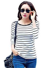 Striped-T-Shirt-Women-Tops-Casual-Long-Sleeve-TShirt-Women-T-shirt-Cotton-Tee-Shirt-Femme