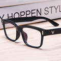2016 brand vintage women's glasses frame women eyeglasses square frame clear lens glasses eyewear 942
