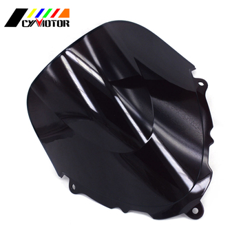 Motorcycle Black Windshield Fairing Windscreen For SUZUKI Katana GSX600F GSX750F GSXF 600 750 1998 1999 2000 2001 2002 03 04-08 image